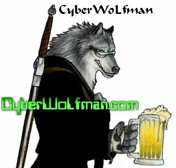 Never saw a werewolf on the Internet that likes to drink ice-cold beer from a liter sized glass?  ;-)